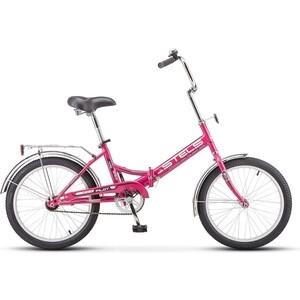 Велосипед Stels Pilot 410 20 Z011 (2018) 13.5 Малиновый велосипед stels pilot 200 gent 20 v021 2017