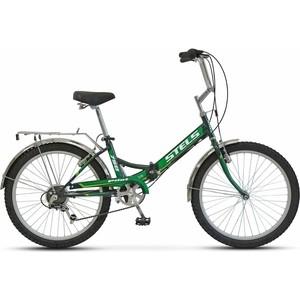 Велосипед Stels Pilot 750 24 Z010 (2018) 16 Черный/зеленый