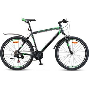 цена на Велосипед Stels Navigator 600 V 26 V020 (2018) 18 Антрацитовый/зеленый