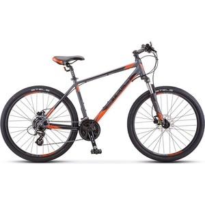 Велосипед Stels Navigator 630 D 26 V010 (2018) 16 Антрацитовый/красный