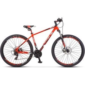 Велосипед Stels Navigator 930 MD 29 V010 (2019) 16.5 Неоновый красный/черный велосипед stels navigator 410 md 24 21 sp v010 13 неоновый красный