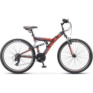 Велосипед Stels Focus V 26 18 sp V030 (2018) Черный/красный