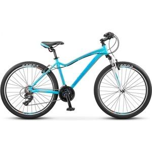 Велосипед Stels Miss 6000 V 26 V030 (2018) 15 Морская волна/оранжевый велосипед stels miss 6000 v 26 v030 2018 рама 15 морская волна оранжевый