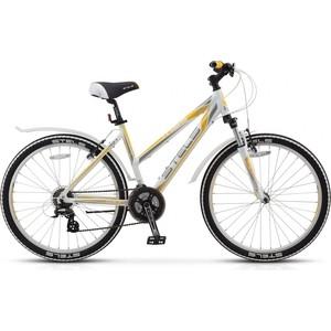 Велосипед Stels Miss 6300 V 26 V010 (2018) 17.5 Белый/серый/желтый
