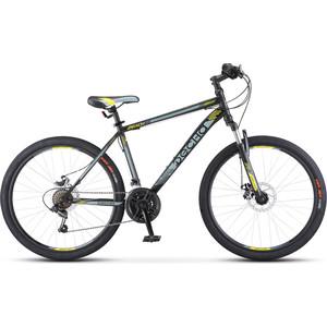 Велосипед Десна Десна-2610 MD 26 V010 18 Черный/серый велосипед десна 2611 md 26 v010 17 жёлтый