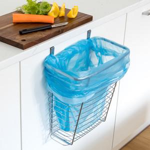 Корзина Tatkraft TOP навесная, подходит для мусорных мешков, 10 л, 17,8x31,1x35,6 см, на стандартную дверь шкафчика, 20 мм