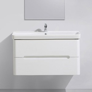 Тумба под раковину BelBagno Luxury 102,5x52 bianco lucido (LUXURY-1050-2C-SO-BL-P)