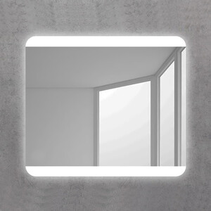 Зеркало BelBagno Spc 100 с подсветкой, кнопочный выключатель (SPC-CEZ-1000-700-LED-BTN)