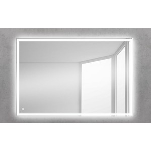 цена на Зеркало BelBagno Spc 90 с подсветкой (SPC-GRT-900-600-LED-TCH)