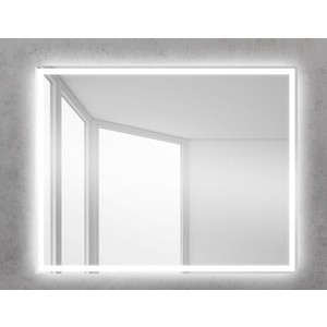 Зеркало BelBagno Spc 100 с подсветкой (SPC-GRT-1000-800-LED-BTN)