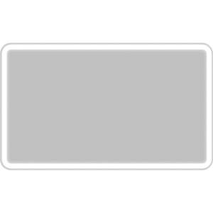 Зеркало BelBagno Spc 100 с подсветкой (SPC-MAR-1000-600-LED-BTN) зеркало belbagno spc mar 1200 800 led btn