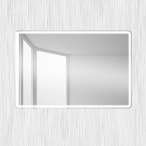 Зеркало BelBagno Spc 100 с подсветкой (SPC-MAR-1000-800-LED-BTN)