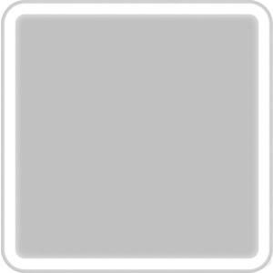 Зеркало BelBagno Spc 60 с подсветкой, кнопочный выключатель (SPC-MAR-600-600-LED-BTN)