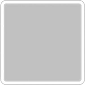 Зеркало BelBagno Spc 80 с подсветкой, кнопочный выключатель (SPC-MAR-800-800-LED-BTN)
