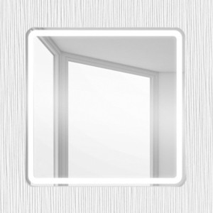Зеркало BelBagno Spc 80 с подсветкой (SPC-MAR-800-800-LED-BTN)