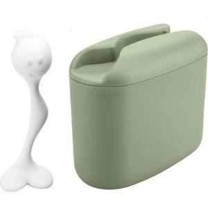 Контейнер для хранения продуктов с ложкой Koziol Hot Stuff M (3057360)