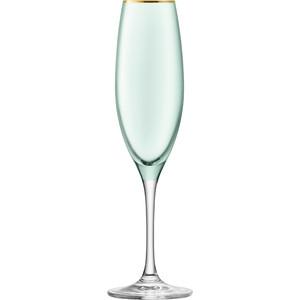 Набор из 2 бокалов для шампанского 225 мл LSA International Sorbet (G978-08-202) набор бокалов для шампанского lsa international aurelia 4 предмета 200 мл