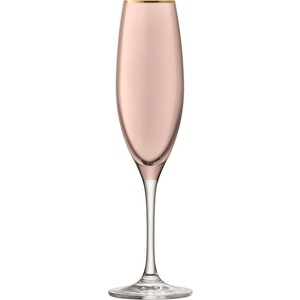 Набор из 2 бокалов для шампанского 225 мл LSA International Sorbet (G978-08-208) набор бокалов для шампанского lsa international aurelia 4 предмета 200 мл