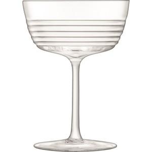 Набор из 2 бокалов для шампанского 265 мл LSA International Groove (G1491-09-171)