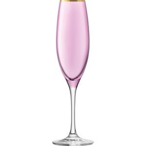Набор из 2 бокалов для шампанского 225 мл LSA International Sorbet (G978-08-206) набор бокалов для шампанского lsa international aurelia 4 предмета 200 мл