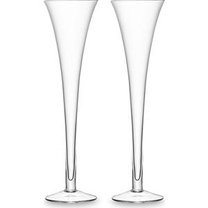 Набор из 2 бокалов для шампанского 225 мл LSA International Bar (G302-08-991)