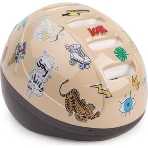 Шлем защитный Happy Baby STONEHEAD размер S BEIGE 50003