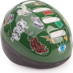 Шлем защитный Happy Baby STONEHEAD размер S GREEN 50003