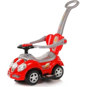 Каталка Baby Care Cute Car Красный (Red) каталка baby care cute car blue