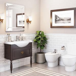 Мебель для ванной Roca America Evolution L 100 дуб темный шоколад pergale шоколад темный с кусочками клюквы 100 г