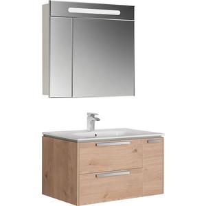 Мебель для ванной Roca Lago 80 светлый дуб