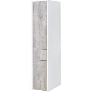Пенал Roca Ronda левый, бетон/белый матовый (ZRU9303005)