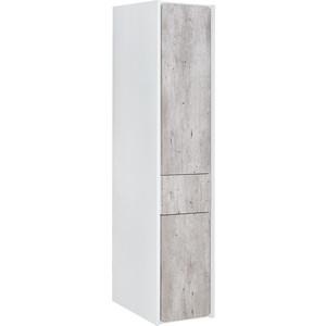 Пенал Roca Ronda правый, бетон/белый матовый (ZRU9303006) пенал roca lago белый 857297806