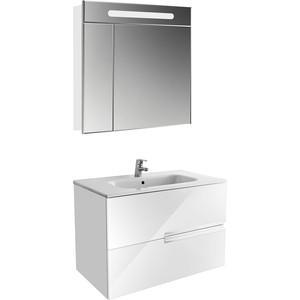 Мебель для ванной Roca Victoria Nord Ice Edition 80 белый глянец