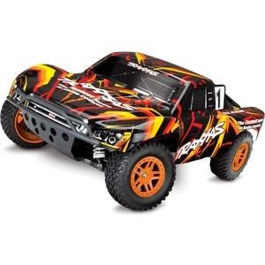 Радиоуправляемый шорт-корс трак TRAXXAS Slash 4x4 RTR масштаб 1:10 2.4G - TRA68054-1 1 5 degree toe aluminum rear stub axle carriers for the traxxas stampede 4x4 slash 4x4 nitro rustler or nitro stampede