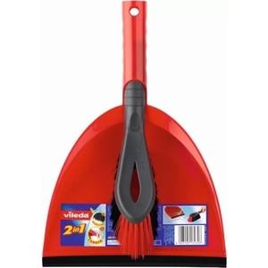купить Набор для уборки VILEDA Совок+щетка 2в1 онлайн