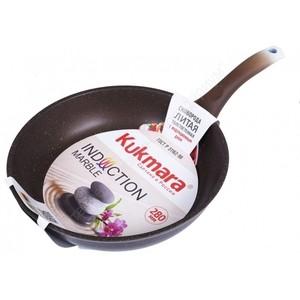 Сковорода d 28 см Kukmara Мрамор (смки280а) сковорода d 24 см kukmara кофейный мрамор смки240а