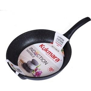 Сковорода Kukmara d 28см Мрамор (смти280а)