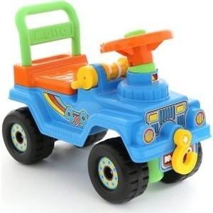 купить Каталка Полесье Джип 4х4 №2 (голубой) (62819) дешево