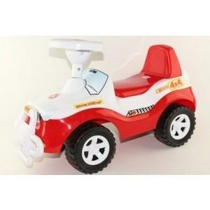 Каталка ORION TOYS Джипик красно-белая (105кК/Б) каталка трактор r toys ор931к пластик от 10 месяцев на колесах красно желтый