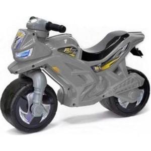Каталка ORION TOYS Мотоцикл 2-х колесный, серый (ОР501Сер)