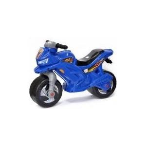 Каталка ORION TOYS Мотоцикл 2-х колесный, синий (ОР501С)