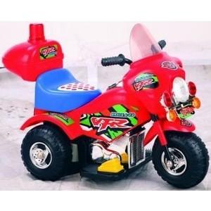 Электромобиль Наша Игрушка Мотоцикл Турне красный, 6V4.5AH (PB-301A red) мотоцикл be2me сh 8819 красный