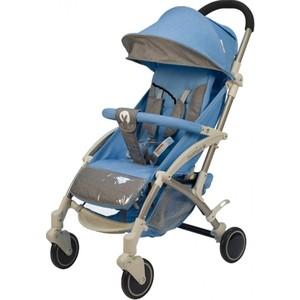 Коляска прогулочная BabyHit ALLURE BLUE GREY Голубой с серым (светлая рама) коляска прогулочная babyhit voyage air серый с голубым voyage air grey blue