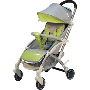Коляска прогулочная BabyHit ALLURE LIGHT GREY GREEN Светло серый с зеленым (светлая рама) коляска прогулочная jetem tourneo красный светло серый