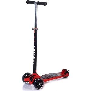 Фото - Самокат 3-х колесный BabyHit MAXI RED BLACK красный с черным велосипед 3 х колесный vip lex 903 2а red красный viplex 903 2а red
