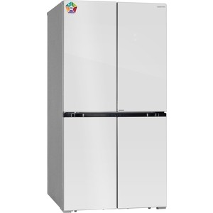 цена на Холодильник Hiberg RFQ-550DX NFGW invertor