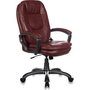 Кресло Бюрократ CH-868AXSN/brown кресло руководителя бюрократ ch 868axsn на колесиках искусственная кожа коричневый [ch 868axsn brown]