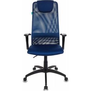 Кресло Бюрократ KB-8N/DB/TW-10N синий TW-05N