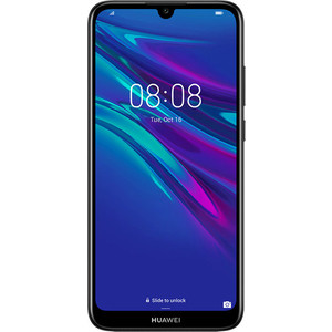 Смартфон Huawei Y6 (2019) Midnight Black смартфон huawei mate 20 t045340 midnight blue