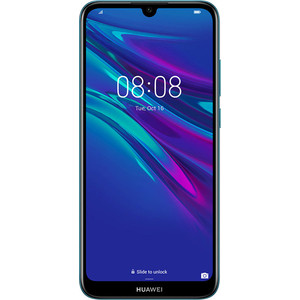 Смартфон Huawei Y6 (2019) Sapphire Blue смартфон huawei mate 20 t045340 midnight blue